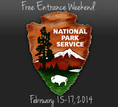 national park service free entrance weekend