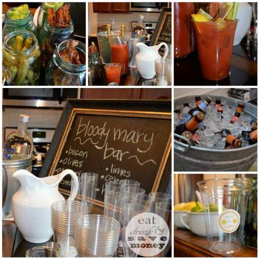 Bloody Mary Bar |  eat drink and save money blog