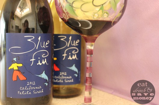 Blue Fin wine review